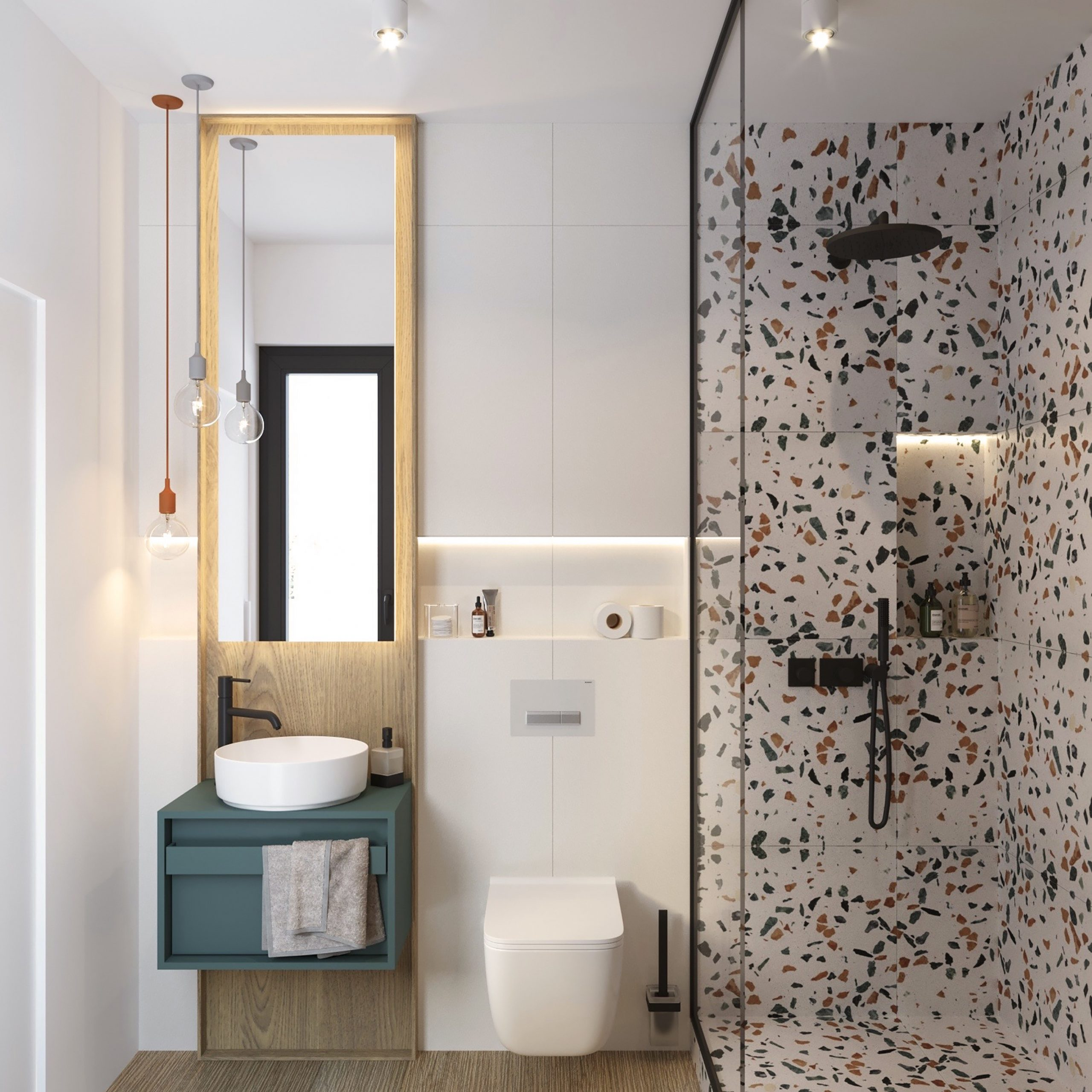 Kupelna design bathroom